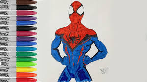 spiderman coloring book pages future spiderman fun sailany