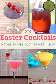 23 easter cocktails for mix that drink