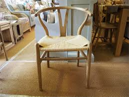 String Chair Columbus Natural Toom Wood And String Chair U0027y U0027 Wishbone Style