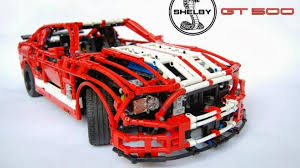 lego ford mustang lego made 1 8 shelby gt500 is insanely detailed video