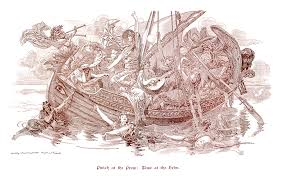 victorian era time and progress cartoons from punch magazine by