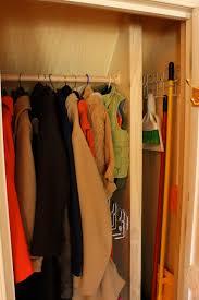 renovation a dual purpose coat closet fieldstone hill design