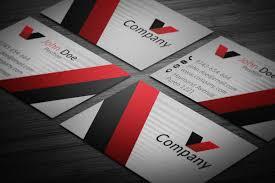 card corporate business card template