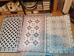 tapis de cuisine sur mesure tapis de salle à manger cuisine pour protéger mon parquet huilé