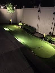 backyard putting green lighting review of northern rainmakers homestars