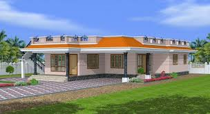 Kerala Style 3 Bedroom Single Floor House Plans 1800 Sq Ft Kerala Style Single Floor 3 Bedroom House Exterior Design