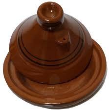 cuisiner avec un tajine en terre cuite tajine moyen marocain de cuisson en terre cuite de couleur unie
