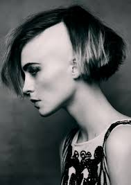 chin length bob one side shaved sidecuts u0026 undercuts