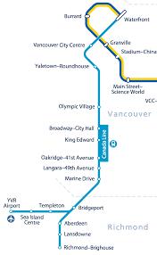 Vancouver Skytrain Map Caos 2015