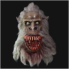 halloween werewolf props official creepshow fluffy mask from trick or treat studios pre