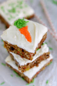 carrot cake bars with cream cheese frosting recipe carrot cake