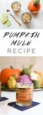 cocktails for thanksgiving 3 ingredient pumpkin moscow mule recipe for fall parties