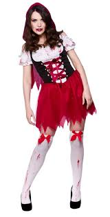 Red Riding Hood Costume Zombie Red Riding Hood Costume