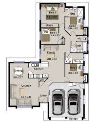 Modern Floor Plans Australia Idea Modern Four Bedroom House Plans Modern House Design Idea