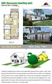 mother in law cottage prefab econova prefabricated modular adu granny flat cottage with light