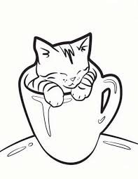 coloring pages cat color pages printable printable coloring pages