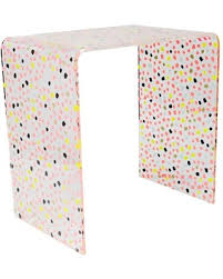 Acrylic Accent Table Sale Accent Table Dotty Acrylic Table Oh Multi Colored
