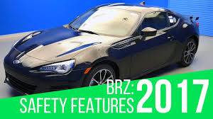 subaru brz matte blue 2017 subaru brz safety features youtube