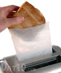 Buttered Bread In Toaster Toastit Toaster Bags Toast Sandwiches In Your Toaster
