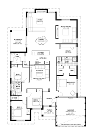 Four Bedroom House Plans by Floor Plan Friday 4 Bedroom Theatre Activity And Study