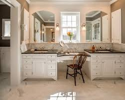 built in vanity mirror houzz