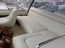 How To Reupholster Boat Cushions Homestyle Custom Upholstery And Awning White Boat Cushions