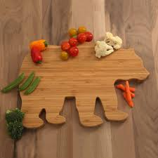 Boos Cutting Boards Bear Shaped Bamboo Cutting Board Cuttingboards Net Bamboo