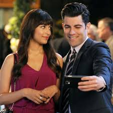 schmidt and cece gifs from new popsugar entertainment
