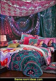 Boho Style Bedroom Boho Bedding Bohemian Tapestries Hanging Ethnic Decorative