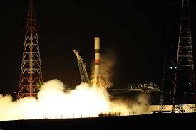 soyuz 2 1a lifts progress cargo ship to precise orbit for iss