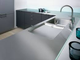 stainless steel countertop with built in sink inspiring mm massive stainless steel countertop from franke massief