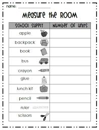 measurement scavenger hunt ideas first grade garden measure the