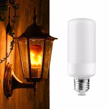 why led light bulbs flicker dynamic flame flicker led light bulb emulation fire burning flame