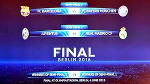 Jadwal Liga Chion Jadwal Lengkap Semifinal Liga Chions Serambi Indonesia