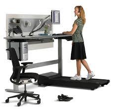 Computer Desk Treadmill Standing Desk Treadmill Healthy Workplace Afd Inc