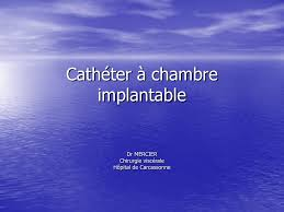 chambre implantable complications cathéter à chambre implantable