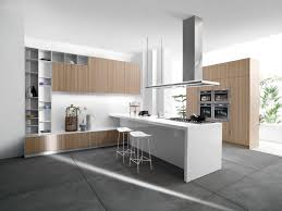 White Formica Kitchen Cabinets Stainless Steel Island Top Kitchen Bay Window Wall Mounted Range