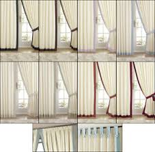 Pencil Pleat Curtain Tape Claremont Satin Lined Tab Top Pencil Pleat Tape Top Curtains In