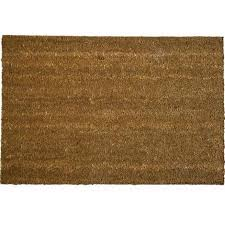 zerbino di cocco in fibra di cocco e fondo in pvc mod classico maurer 70x140 cm