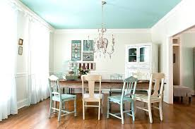 dining table shabby chic round dining table uk cozy rustic blue
