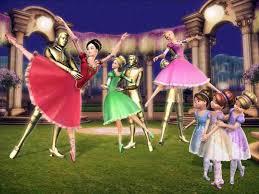 21 barbie 12 dancing princesses images