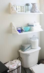 Ladder Shelf For Bathroom 18 Genius Bathroom Storage Ideas
