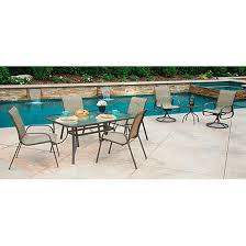 8 Chair Patio Dining Set - 8 piece castlecreek shale island patio dining set 624351 patio