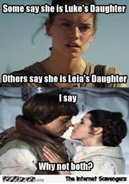 Leia Meme - luke and leia s daughter meme pmslweb