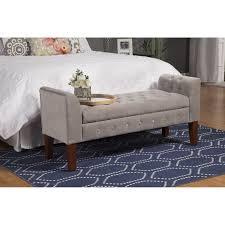 Bedroom Bench Seat With Storage Master Bedrooms Storage Ideas Newhomesandrews Com