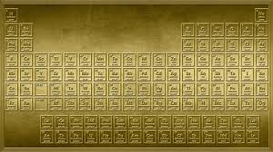 modern periodic table arrangement shiny this 4k gold periodic table wallpaper looks as if it were
