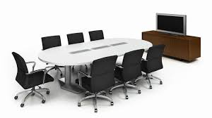 Conference Table With Chairs E Table 2 Conference Tables With Power Integration Coalesse