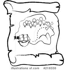 treasure map clipart treasure map clipart 218330 illustration by pams clipart