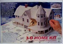 3d home kit by design works design works 3 d model home building kit your house to scale floor