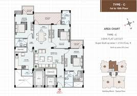 3 bhk apartment floor plan murli heights premium 3 bhk and 4 bhk apartment